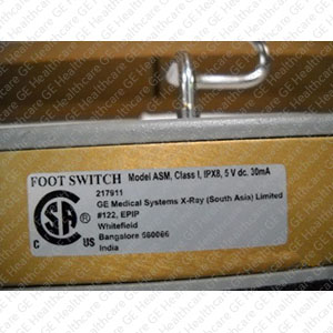 Foot Switch Assembly 00-881060-03