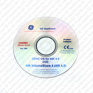 GE Healthcare Operating System for AW 4.5 DVD