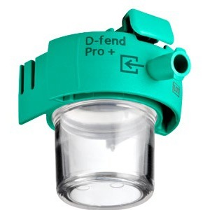 D-fend Pro+ Water Trap - Green, 10/box